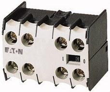 EATON 010080 Bloque de contactos auxiliares 11DILEM 1 NO+1 NC montaje frontal conexión a tornillo para D