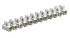 OBO-BETTERMANN 2056550 REGLETA 78/CE SECCIONADOR/SECCIONABLE 16mm2 POLIPROPILENO BLANCO