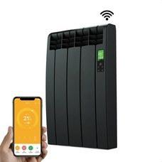 ROINTE DNB0330RAD Radiador digital Serie D 3 elementos 330W negro conectado de bajo consumo