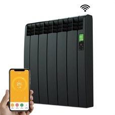 ROINTE DNB0550RAD Radiador digital Serie D 5 elementos 550W negro conectado de bajo consumo