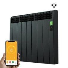 ROINTE DNB0770RAD Radiador digital Serie D 7 elementos 770W negro conectado de bajo consumo