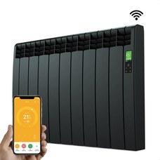 ROINTE DNB0990RAD Radiador digital Serie D 9 elementos 990W negro conectado de bajo consumo