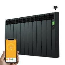 ROINTE DNB1210RAD Radiador digital Serie D 11 elementos 1210W negro conectado de bajo consumo