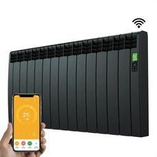 ROINTE DNB1430RAD Radiador digital Serie D 13 elementos 1430W negro conectado de bajo consumo