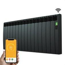 ROINTE DNB1600RAD Radiador digital Serie D 15 elementos 1600W negro conectado de bajo consumo