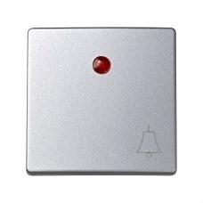 SIMON 73015-63 Tecla con campana para luminoso Simon 73 loft aluminio