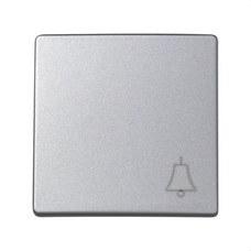 SIMON 73017-63 Tecla pulsador campana Simon 73 loft aluminio