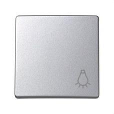 SIMON 73018-63 Tecla pulsador luz Simon 73 loft aluminio