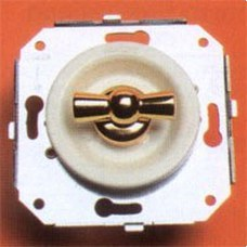FONTINI 35-300-17-2 DOBLE INTERRUPTOR 10A-250V PORCELANA PACK