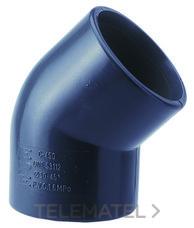 ADEQUA 1001265 PVC.PRES.CODO 40.45