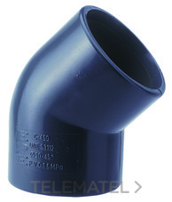 ADEQUA 1001269 PVC.PRES.CODO 50.45