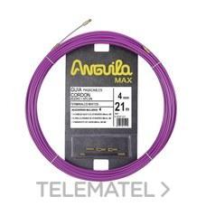 ANGUILA 65040021 Pasacables ANGUILA MAX cordón acero nylon 21m lila