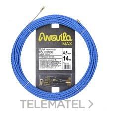 ANGUILA 75045014 Trenza triple poliéster ANGUILA MAX diámetro 4,5mm 14m con nuevos terminales diámetro 5mm f