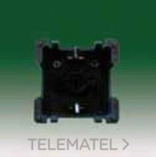 BJC 16524 Base enchufe de seguridad 2P+T (TT lateral) 16A 250V emborne por tornillos