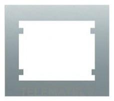 BJC 18001-MA Marco 1 elemento horizontal vertical serie Iris en aluminio mercurio