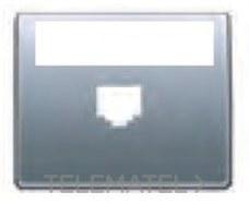 BJC 22883-BN Tapa portaetiquetas para conector serie Mega en bronce niebla