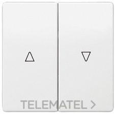 BJC 5TG72765WH00 Tecla doble persiana style en blanco polar