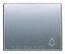 BJC 22716-BN Tecla pulsador timbre 22716-BN serie Mega en bronce niebla