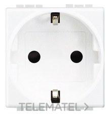 BTICINO N4141 Base schuko 2P+T 10/16A 250V 2 módulos Livinglight