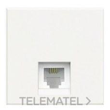 BTICINO HD4258C12D Base teléfono RJ12 K10 en color blanco