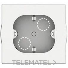 BTICINO 502BI Caja superficie universal 2 módulos en color blanco