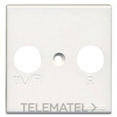 BTICINO AM5164/2 Frontal TV/R-SAT universal Màtix 2 módulos blanco
