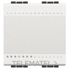 BTICINO N4001M2A Interruptor 1P 16A con 2 módulos en color blanco