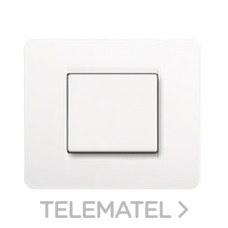 BTICINO AM4802BN Placa con 2 módulos MATIX en color blanco