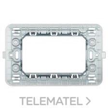 BTICINO 503SA Soporte con 3 módulos caja rectangular MAGIC