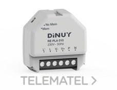 DINUY RE PLA 010 Regulador 100 equipos 1-10V caja registro pulsador