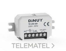 DINUY TE UNI 220 Telerruptor unipolar 1x10A 230V