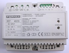 FERMAX 4830 Alimentador 18VDC-3,5A DIN6