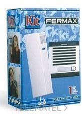 FERMAX 6202 Kit portero CITYMAX 2L AGUAMAR 230V TEL blanco