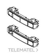 FERMAX 9601 Pulsador doble CITY CLASSIC