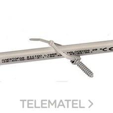 GAESTOPAS 280-048-GR7035 Brida sujetacables (RAL 7035) poliamida 280x4,8W gris