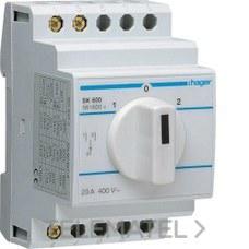 HAGER SK601 Conmutador 1-2 20A 2P