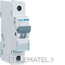 HAGER MUN110A Interruptor automático 1P 10A curva-C 6kA
