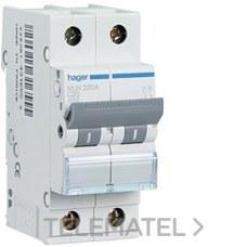 HAGER MUN510A Interruptor automático 1P+N 10A curva-C 6kA
