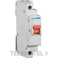 HAGER MN910V Interruptor automático MN 1P+N 10A curva-C