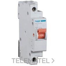 HAGER MN916V Interruptor automático MN 1P+N 16A curva-C