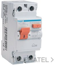 HAGER CD748V Interruptor diferencial MN 30mA 2P 40A