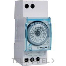 HAGER EH210 Interruptor horario esfera diaria 16A 1 conmutado sin reserva