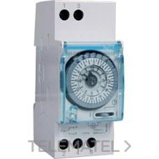 HAGER EH211 Interruptor horario esfera diaria sin reserva 200h 1 conmutado