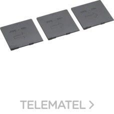 HAGER HYB019H Juego separadores fase para interruptor X16-X250 (3u)