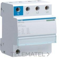 HAGER SPM415D Limitador sobretensión monobloc 3P+N 15kA clase II