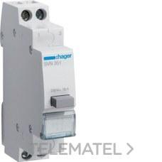 HAGER SVN351 Pulsador 16A 250V 1 NA+1 NC