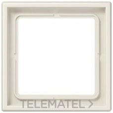 JUNG LS981W Marco 1 elemento blanco marfil