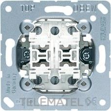 JUNG 509U Mecanismo doble conmutador 10AX 250V