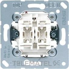 JUNG 505EU Mecanismo doble interruptor sin garras fijación