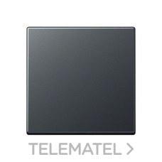 JUNG A590BFANM Tecla simple para interruptor pulsador antracita mate
